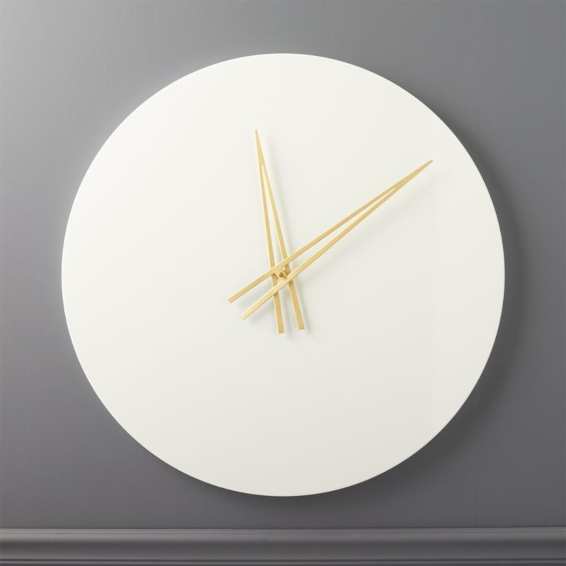 Modern Wall Clocks CB2