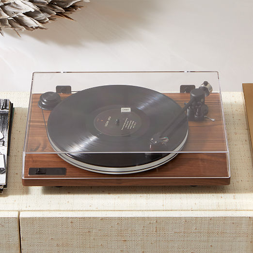 Orbit Special Walnut Turntable with Built-In Pre Amp