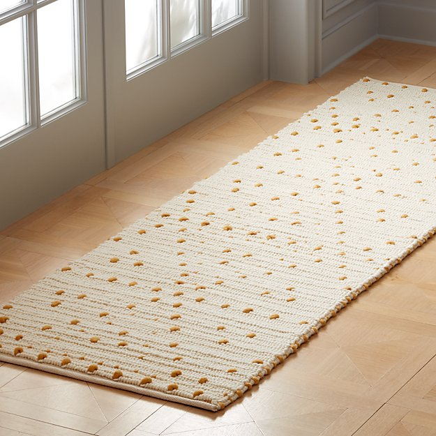 Orville Light Copper Dot Runner 2.5'x8' - Image 1 of 3