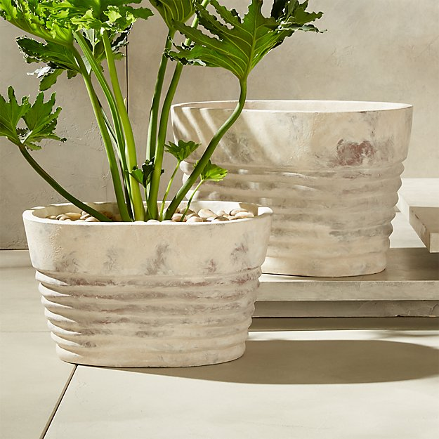 Ovalo Planters - Image 1 of 12