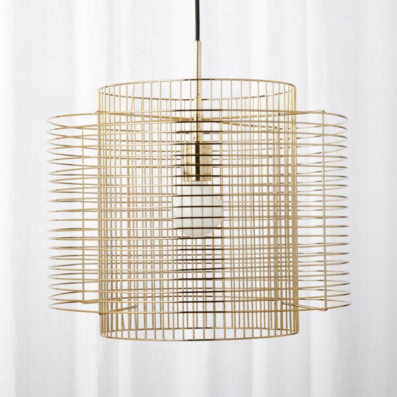 cage pendant lighting. Cage Pendant Lighting K