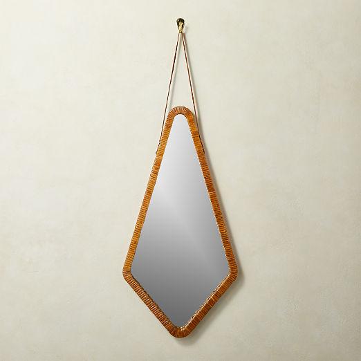 Palamos Rattan Mirror