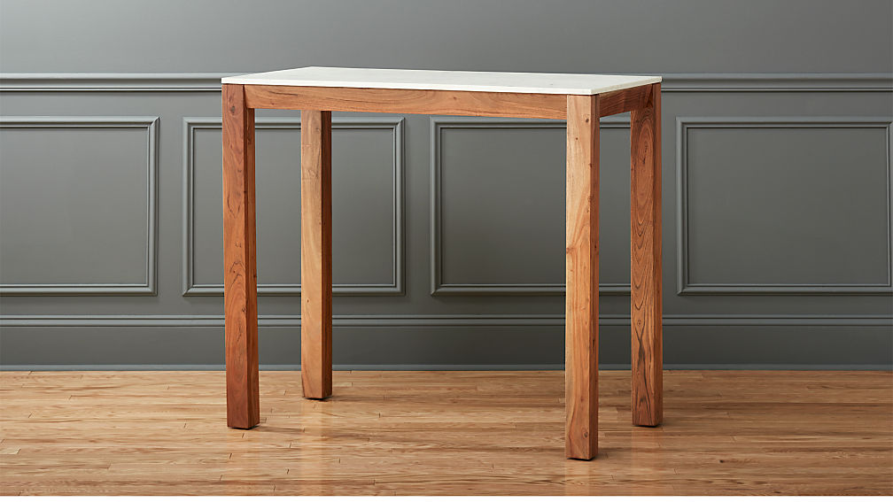 Palate Marble High Dining Table - Image 1 of 10
