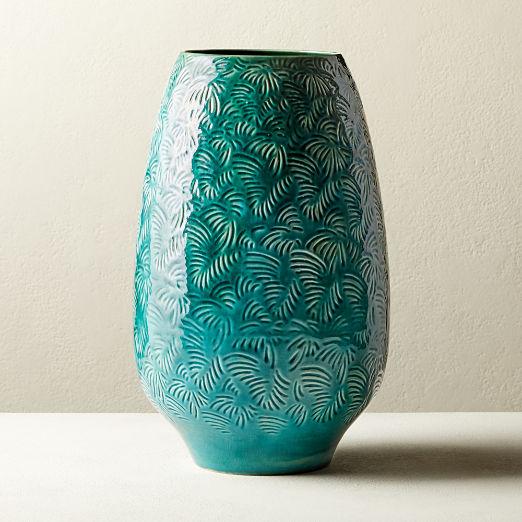 Palm Leaf Vase