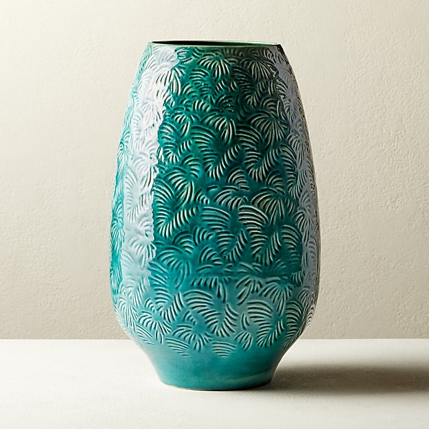 Palm Leaf Vase - Image 1 of 4