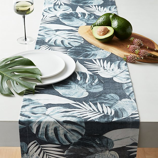 Palm Leaf Table Runner - Image 1 of 4