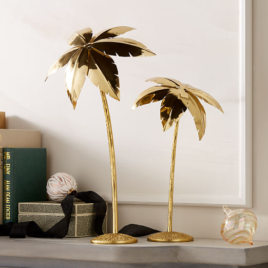 Palm Trees Gold