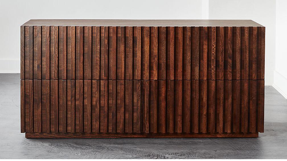 Parallel Wood Low Dresser - Image 1 of 7