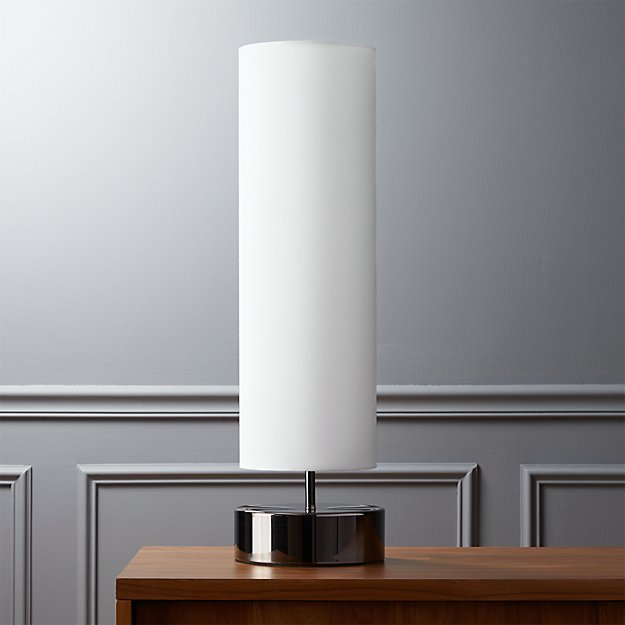 Paramount table lamp reviews cb2 aloadofball Image collections