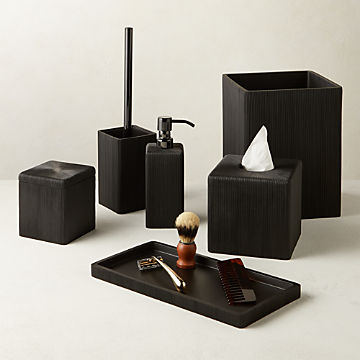 Modern Bathroom Accessories For Stylish Vanities Cb2