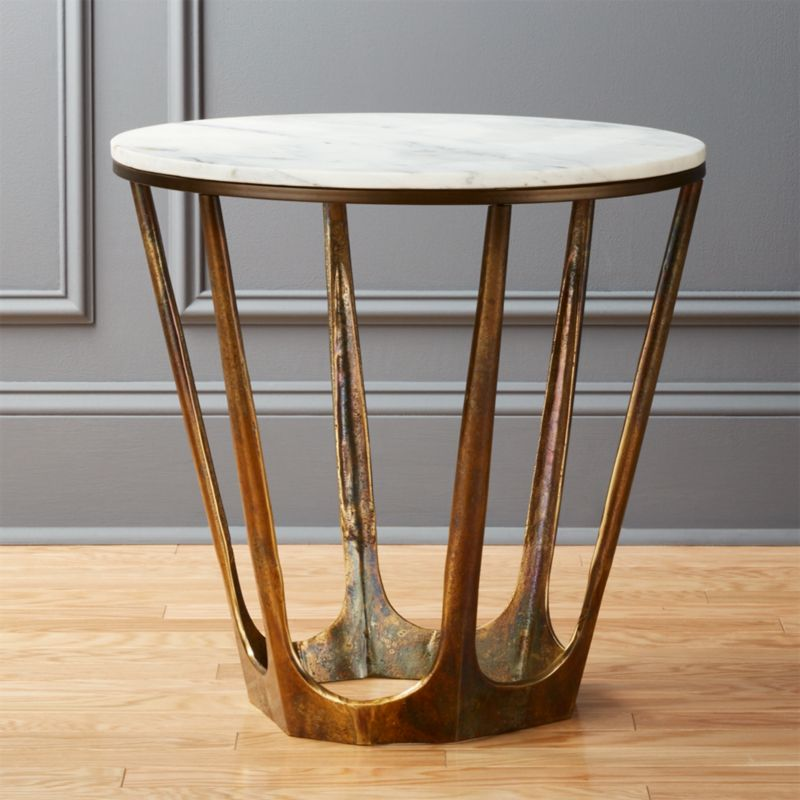 Slab Tables CB - Cb2 slab marble coffee table
