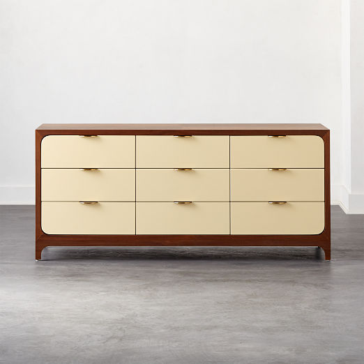 Paterson Lacquered Ivory Dresser