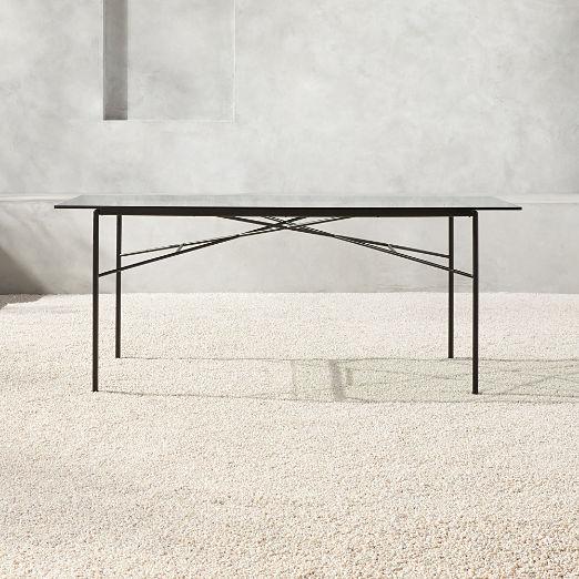 Pavilion Glass Dining Table Model 6141