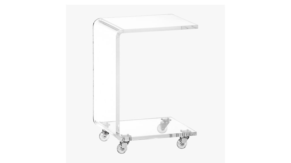 Best peekaboo acrylic c table + Reviews | CB2 FN04