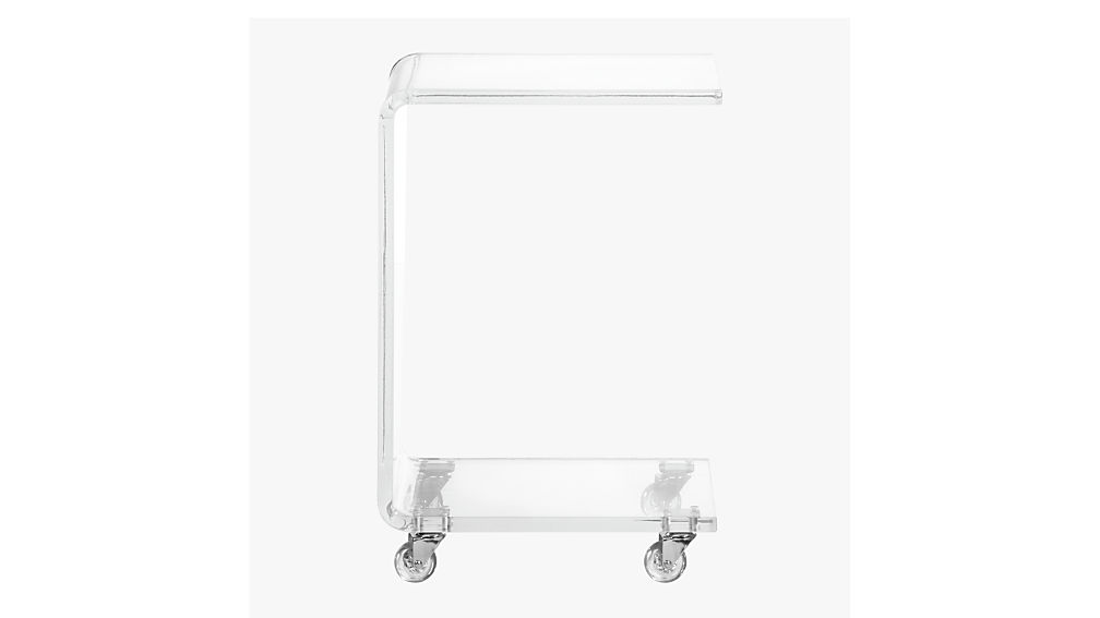 Fresh peekaboo acrylic c table + Reviews | CB2 FF73