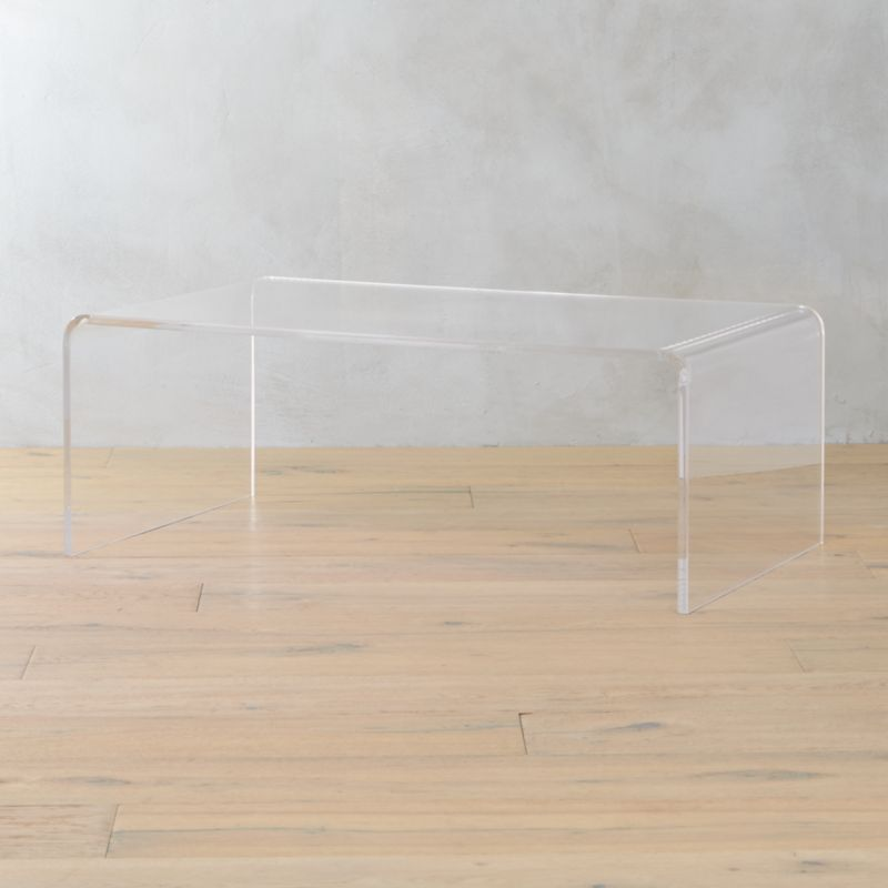 Beau Peekaboo Acrylic Coffee Table