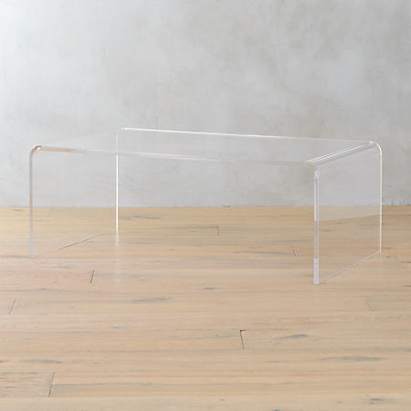 Excellent Peekaboo Acrylic Coffee Table Unemploymentrelief Wooden Chair Designs For Living Room Unemploymentrelieforg