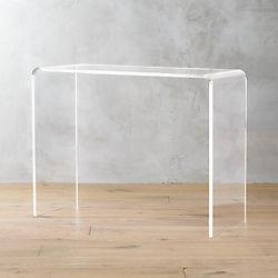 Kaboo 38 Acrylic Console Table