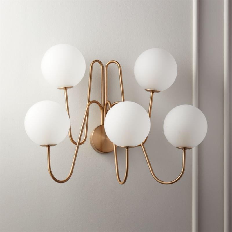 Penta Globe Wall Sconce Reviews Cb2