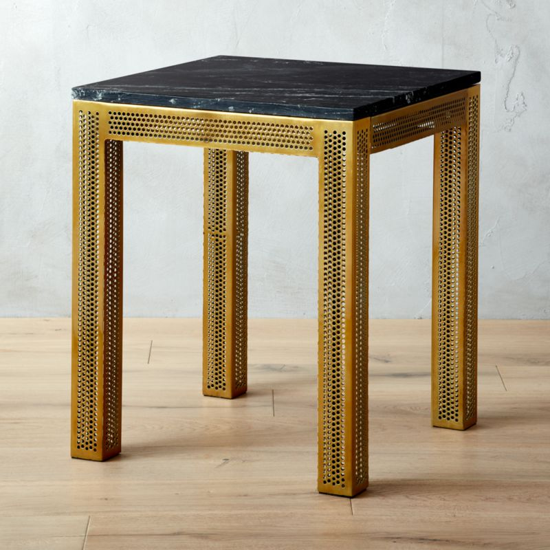 Glass Accent Tables | CB2