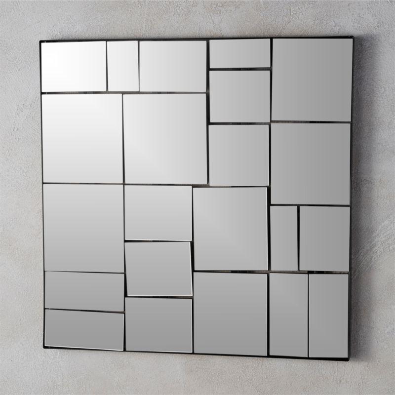 Mirrored Wall Decor Cb2