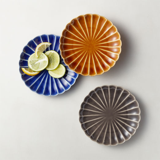 Petal Ceramic Appetizer Plates