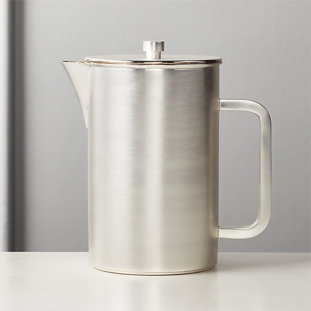Petra Silver French Press - Image 1 of 2