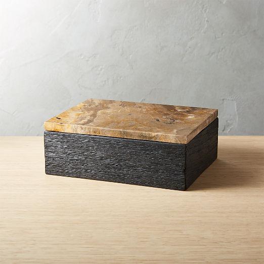 Petrified Wood Box