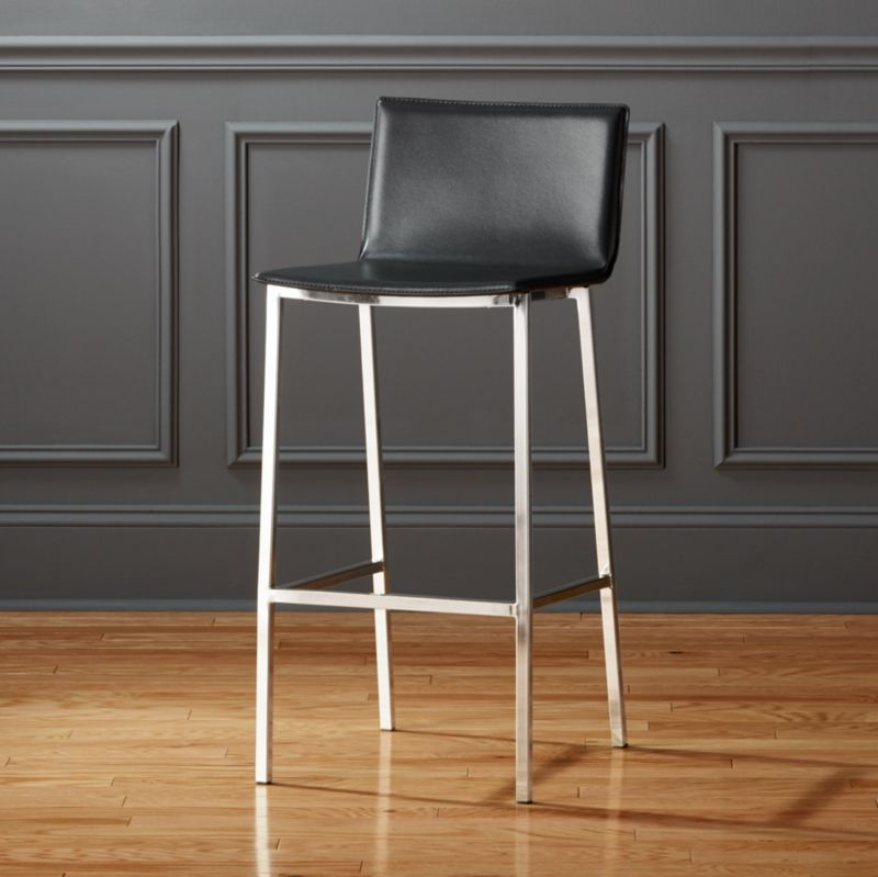 Modern Black Bar Stools