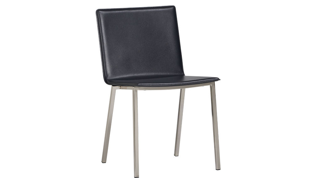 Phoenix Carbon Grey Chair + Reviews | CB2