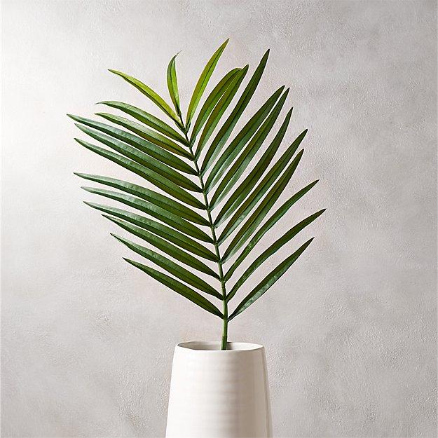 Faux Phoenix Palm Leaf 44 Quot Reviews Cb2