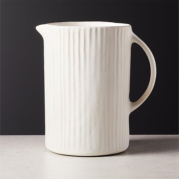 Pia Ceramic Pitcher - Image 1 of 5