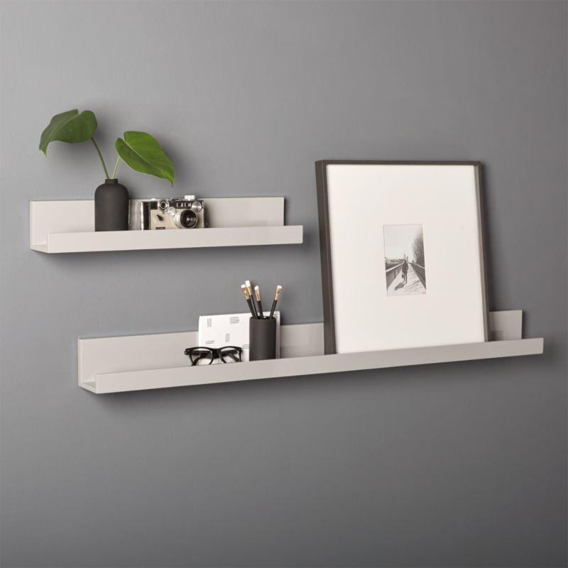 bremen shelves shelf floating wall m b black lokken products shelfs