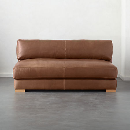Piazza Leather Apartment Sofa