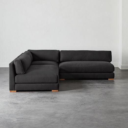 Superb Modern Sectional Sofas Find Your Configuration Cb2 Canada Bralicious Painted Fabric Chair Ideas Braliciousco