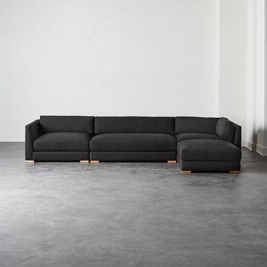 Admirable Modern Sectional Sofas Cb2 Short Links Chair Design For Home Short Linksinfo
