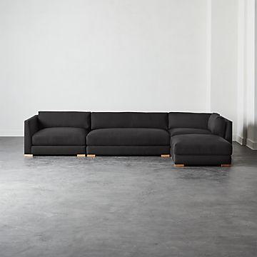 Swell Modern Sectional Sofas Cb2 Ibusinesslaw Wood Chair Design Ideas Ibusinesslaworg