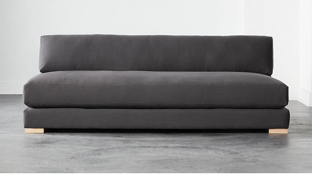 Piazza Dark Grey Sofa - Image 1 of 6