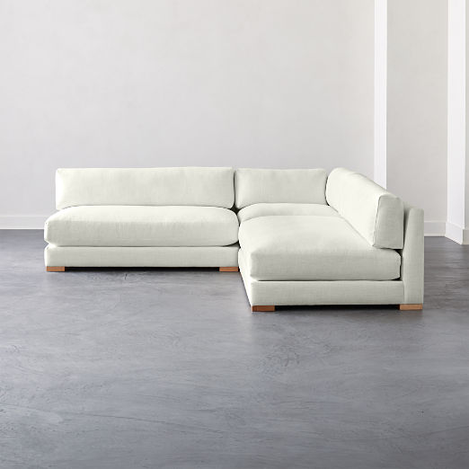 Strange Modern Sectional Sofas Cb2 Creativecarmelina Interior Chair Design Creativecarmelinacom