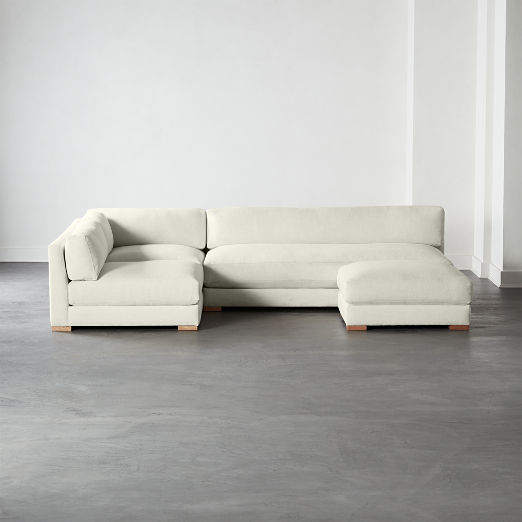 Fabulous Modern Sectional Sofas Cb2 Creativecarmelina Interior Chair Design Creativecarmelinacom