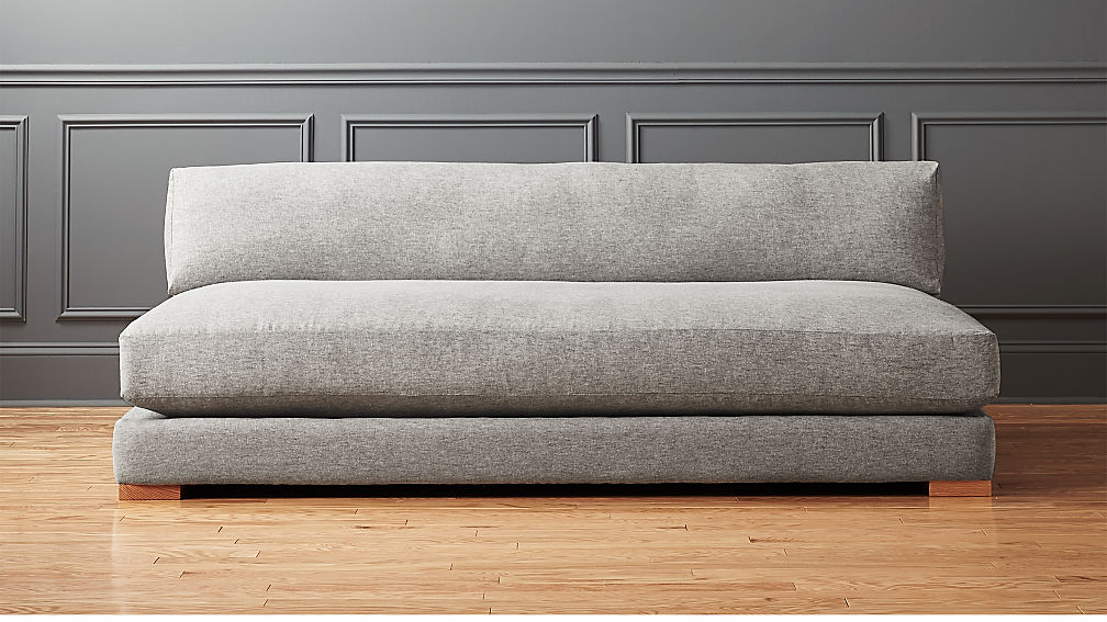 Piazza Steel Grey Sofa Reviews Cb2