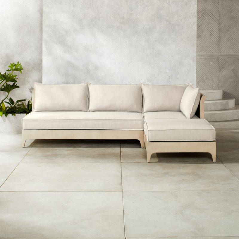 Outdoor Stone Furniture Cb2