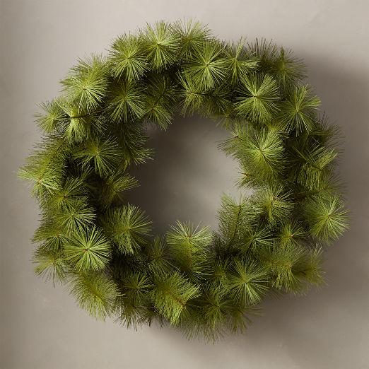 Artificial Pine Wreath