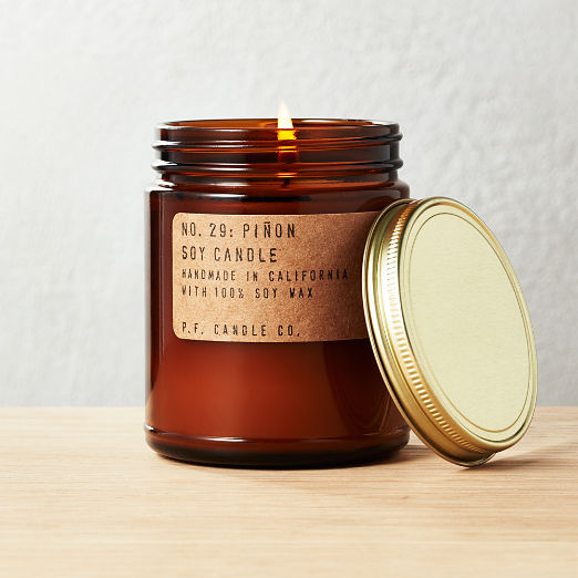P.F. Candle Co. Pinon Soy Candle 7.5 oz.