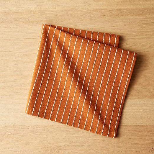 Pinstripe Copper Napkin