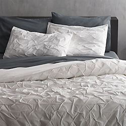 melyssa white bedding - Crate And Barrel Bedding