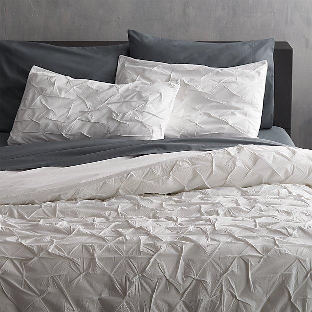 full size duvet cover melyssa white full/queen duvet cover + Reviews | CB2 full size duvet cover