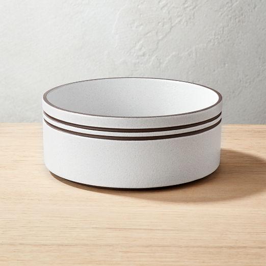 Pitch White Soup Bowl