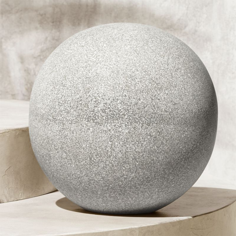 Playa Large Garden Sphere Reviews Cb2