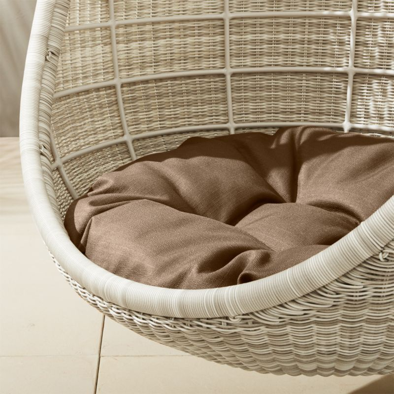 Pod Hanging Chair Cushion Reviews Cb2